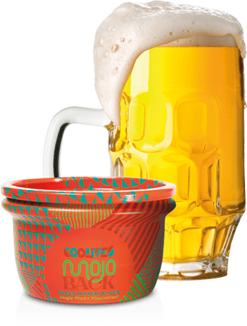 Mojo back + cerveza